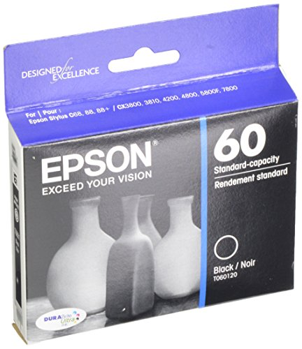 (Epson T060120 DURABrite Ultra Black Standard Capacity Cartridge Ink)