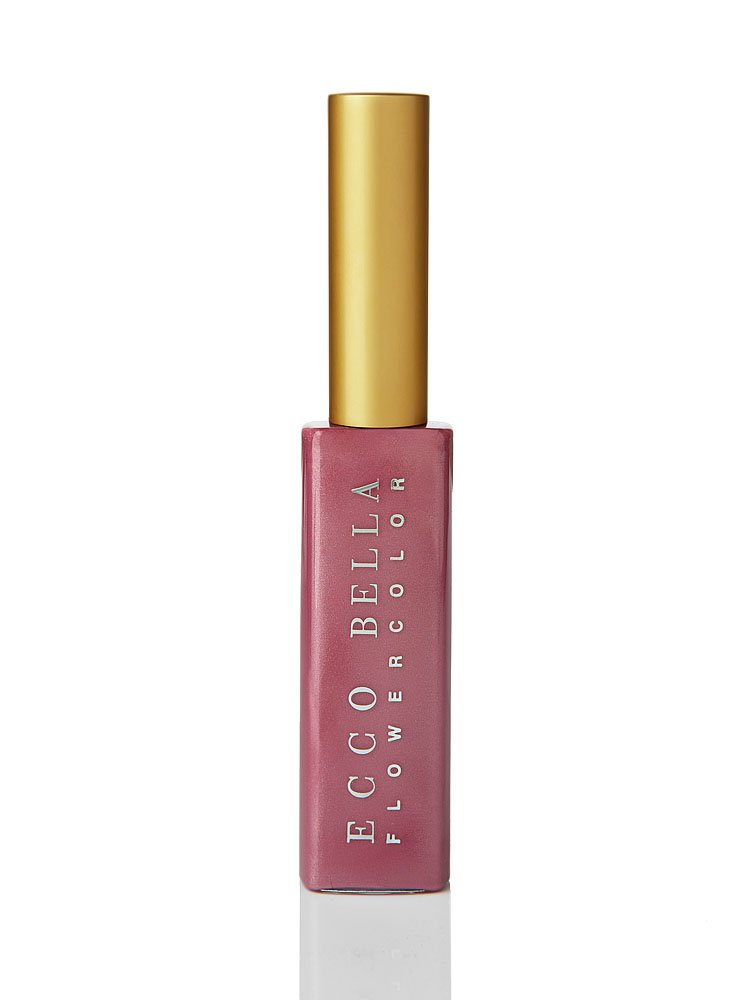 Ecco Bella Natural Lip Gloss | Shiny, Smooth and Gluten Free Good for You Gloss, Pleasure, .38 ounce
