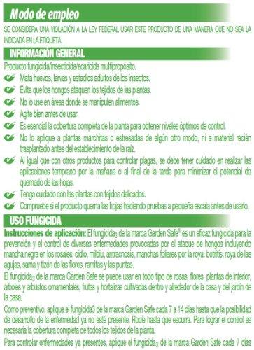 Garden Safefungicide3ready To Use Hg 10414x 24 Fl Oz Buy
