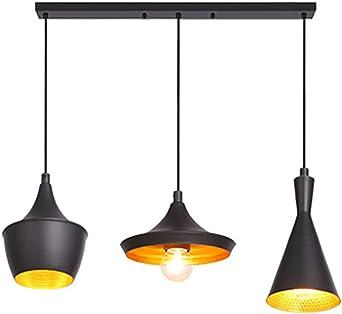 3-ligero Moderno Metálico Lámparas De Araña,aluminio Porche Campo ...
