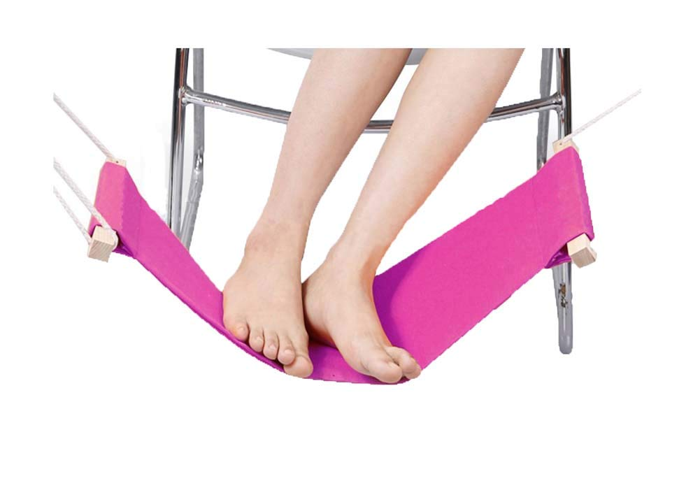 Relaxation Footrest Hammock Portable Foot Hammock for Office/Travel, A1