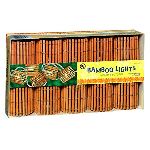 Bamboo Tiki Garden String Lights Set 10 - 1