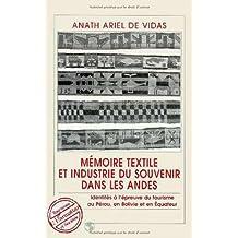 Mémoire textile et industrie du souvenir