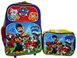Paw Patrol Rolling Backpack and Lunch bag combo set