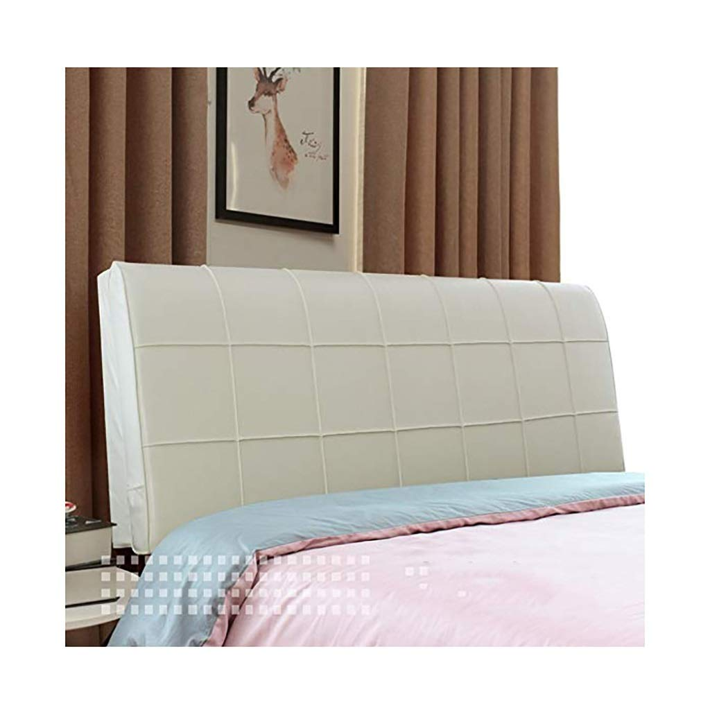 YANFEI Headboard Cushion Bed for Bed Bed Cushion Pallet Pad Bed Softcase Easy to Clean, 5 Colors, 7 Sizes,no Headboard (Color : No headboard-210cm, Size : A)