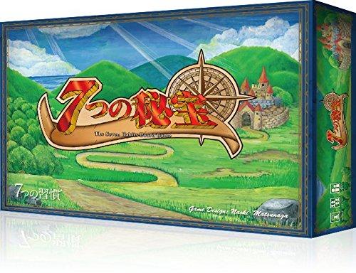 [해외]7 개의 보물 ~ 7 개의 거주 보드 게임 ~ / Seven Treasures ~ Seven Customs board game ~