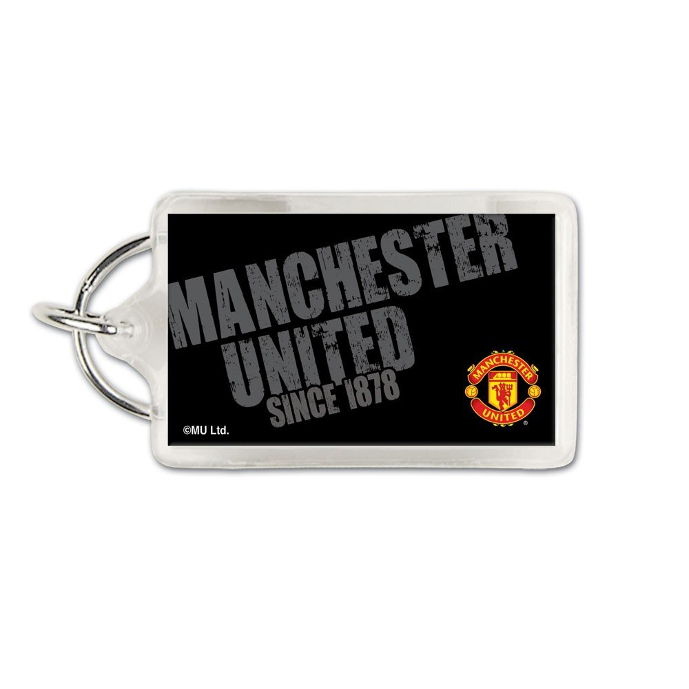 Soccer 60432011 Manchester Unitedアクリルカード付キーリング B007NUIXMC