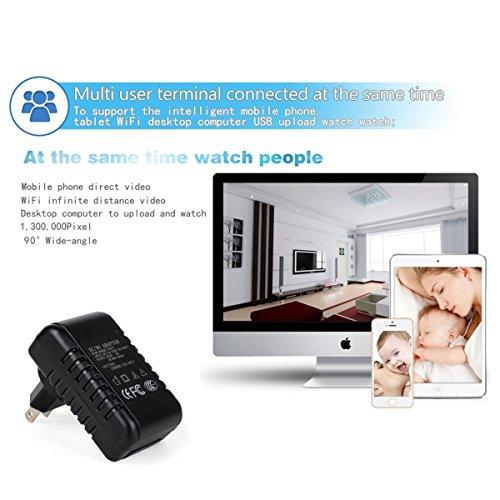 Daretang P2p Wifi Spy Camera Adapter H 264 Format Hd 720p