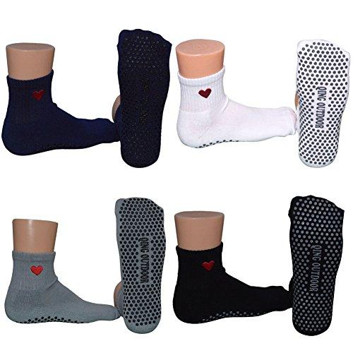 Pair Cotton Socks Barre Women