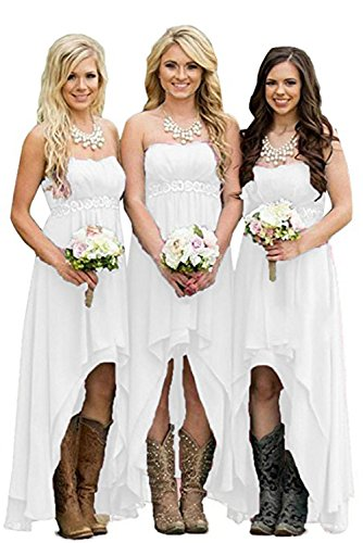 high low bridesmaid dresses under 100 - 3
