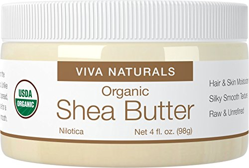 Sunscreen Butter Natural Shea (Viva Naturals Organic Shea Butter for Melt and Pour Soap Base, 4 oz - Super Soft Grade A, Silky Smooth Texture &, Suitable for All Skin Types and Perfect for DIY Recipes)