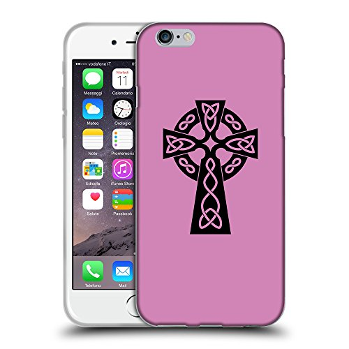 GoGoMobile Coque de Protection TPU Silicone Case pour // Q07850618 Christian Cross 10 Bronze // Apple iPhone 6 PLUS 5.5""