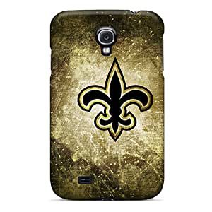 Shock Absorbent Cell-phone Hard Cover For Samsung Galaxy S4 (yMg8097WnDt) Customized Colorful New Orleans Saints Pictures