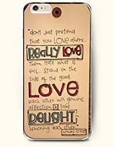 iPhone 6 Case,OOFIT iPhone 6 (4.7) Hard Case **NEW** Case with the Design of REALLY LOVE LOVE DELIGHT ROMANS 21:910 - Case for Apple iPhone iPhone 6 (4.7) (2014) Verizon, AT&T Sprint, T-mobile