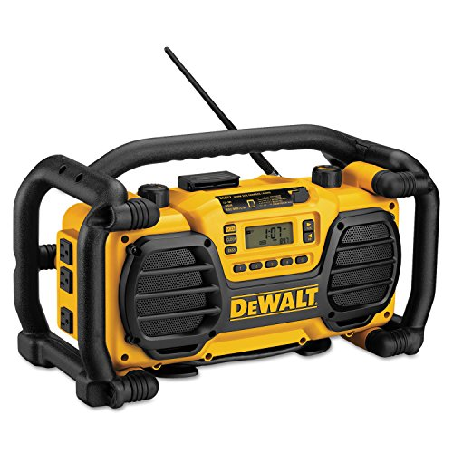 DEWALT DC012 7.2-Volt-18-Volt Heavy-Duty Worksite Radio Charger by DEWALT