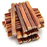 Cheap ValueBull Bully Sticks Dog Chews, 6 Inch Thick, All Natural, 25 Count