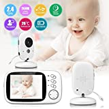 •Hassle-Free Plug & Play monitoring , EASY SETUP, few minutes and you are ready to go  •Built-in lullabies in the camera, 8 fantastic lullabies •Automatic night vision, watch your baby even at night •Two way talk back -hear what's happeni...