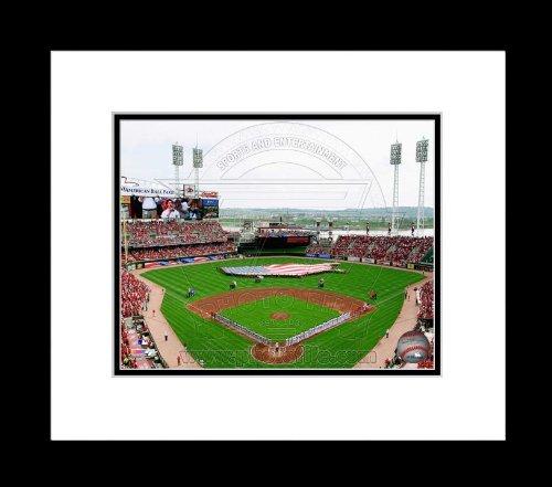 (Cincinnati Reds Great American Ballpark 2010 Opening Day - Framed 16x20 Photo )