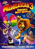 Madagascar 3: Europe's Most Wanted (DVD Zone 3) by Ben Stiller