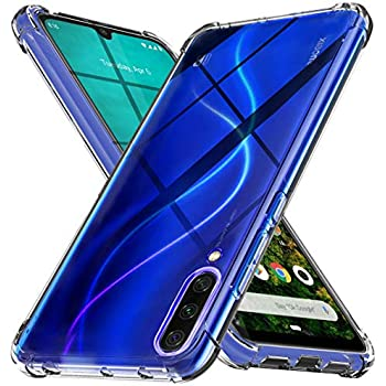 Amazon.com: QHOHQ Case for Xiaomi Mi A3, Transparent Ultra ...