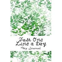 Un solo un día de línea: memoria de cinco años Diario Verde Diseño de hojas