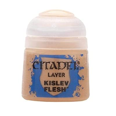 Games Workshop Citadel Layer Paint Kislev Flesh 12Ml: Toys & Games