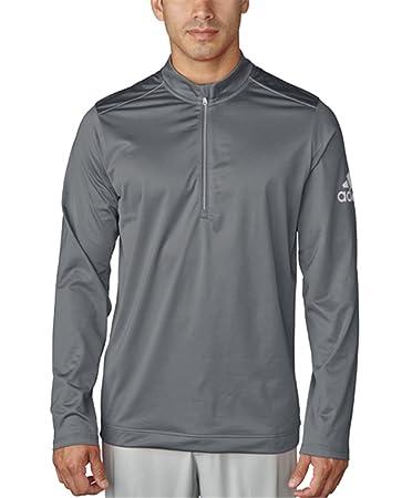 519b6202f0d adidas Golf Men' s Climawarm Classic Mezza Zip Jacket, Uomo, Vista Grey