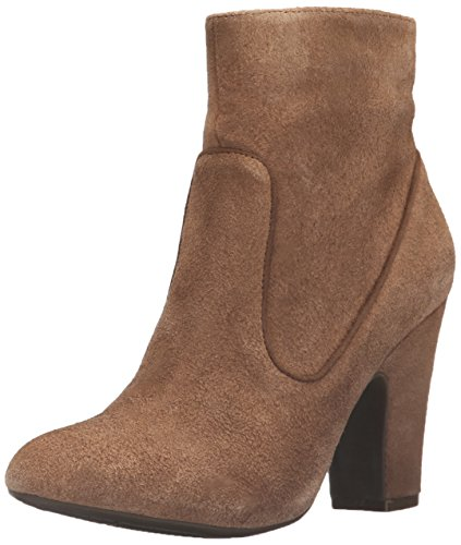 Anne Klein Women's Bayrose Ankle Bootie, Camel, 7 M US (Camel Suede Ankle Boots For Women)