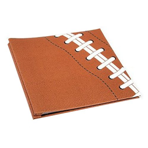 WeGlow International WGI Textured Football Scrapbook Novelty Virginia Toy 65TOY107