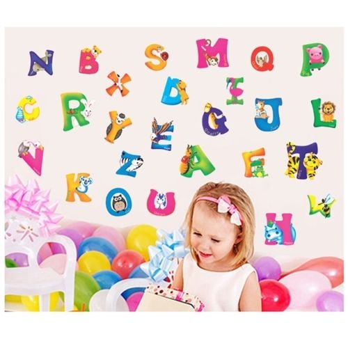 Edtoy Alphabet Animals Stickers Nursery product image