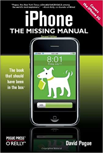 iPhone: The Missing Manual: Covers the iPhone 3G: Amazon de