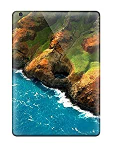 Defender Case With Nice Appearance (sea Mountains) For Ipad Air