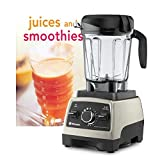 pro 750 vitamix - Vitamix Pro 750 Heritage Brushed Stainless Home Blender with Bonus Tuttle Juices and Smoothies Cookbook