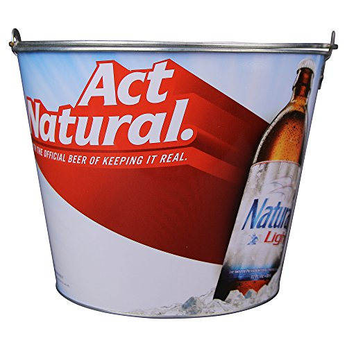 Natty Light - Beer Brand Full Color Aluminum Beer Bucket (Natural Light