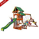 Wooden Swing Sets Cedar Kids Playcenter Physical Activity And Exercise Garden Backyard Games Children Fun - Skroutz