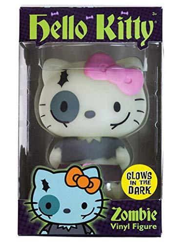Glow-in-the-Dark Zombie Hello Kitty (RARE): ~4.25