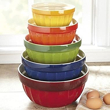 CHEFS Stoneware Mixing Bowls