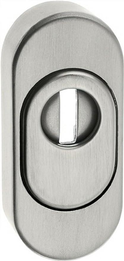 Para puerta corredera Rosette PZ ZA altura 74 mm ejemplo de 33 mm de grosor 15 mm VA mate: Amazon.es: Hogar