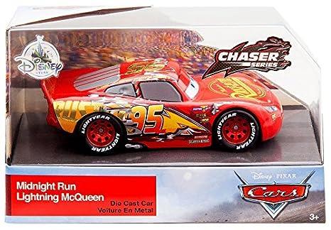 Amazon Com Dpc Cars Cars 3 Chaser Series Midnight Run Lightning