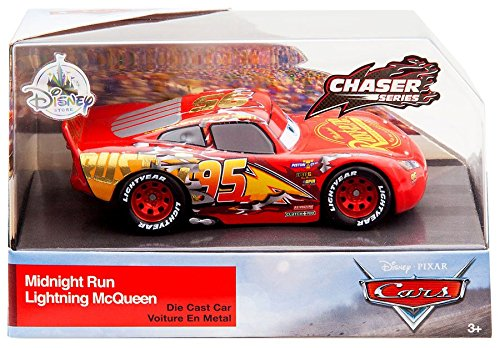 Midnight Run Lightning McQueen Chaser Series Disney Cars Exclusive DieCast 1:43 Scale - Exclusive Car Series