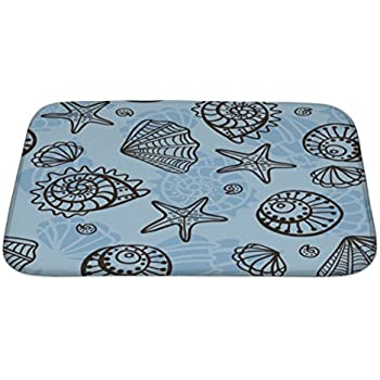 "durable service Gear New Rubber Ducks Pattern Bath Mat, Microfiber And Memory Foam, 34""x21"", GN4008360"