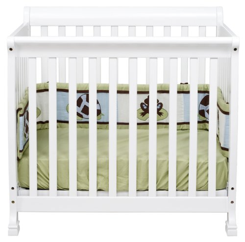 davinci kalani 2 in 1 mini crib and bed in white finish ebay