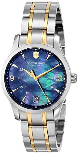 Victorinox Women s 249064 Alliance Analog Display Swiss Quartz Two Tone Watch