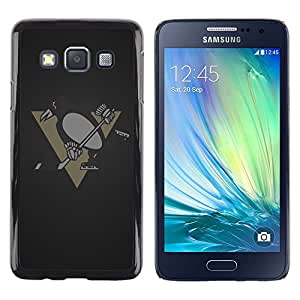 Impact Case Cover with Art Pattern Designs FOR Samsung Galaxy A3 Penguin Hockey Team Betty shop