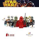 ABG toys Minifigures STAR WARS Bomb Squad Trooper, Commander Gree, 41st Elite Corps Trooper, 41st Kashyyyk Clone Trooper, Wolf pack Clone Trooper, Scout trooper, 212th Battalion Trooper, Royal Guard Series Building Blocks Sets Toys
