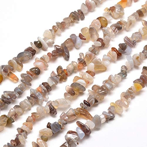 shop Cheriswelry 5-8mm Natural Agate Chip Strand Stone Time sale Beads Drilled