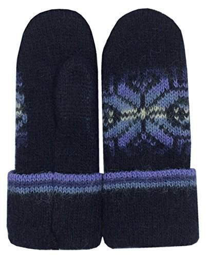 Wool Mittens Men With...