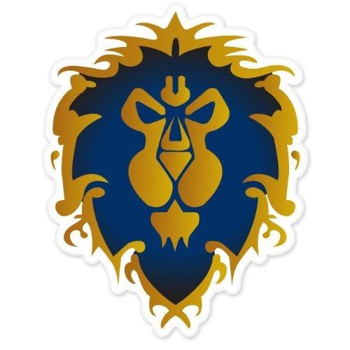 Alliance World of Warcraft WOW bumper sticker 4