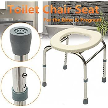 Amazon Com Folding Commode Chair Steel Portable Camping