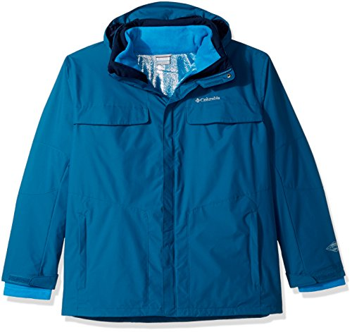 Columbia Men's Big and Tall Bugaboo Interchange Jacket, Phoenix Blue, 3X ()
